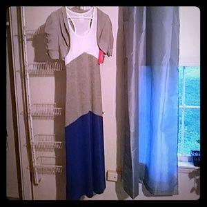Long Dress with short jacket~